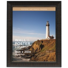 Bloomsbury Market Hutter Poster Espresso Picture Frame BLMS4052