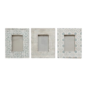 Ophelia Co. Mike 3 Piece Cement Picture Frame Set OPCO4579