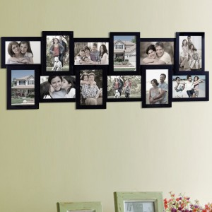 AdecoTrading 12 Opening Collage Picture Frame ADEC1845