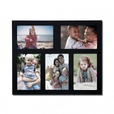 AdecoTrading 5 Opening Wall Hanging Collage Picture Frame ADEC1931