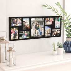 Latitude Run 9 Opening Wood Wall Hanging Picture Frame LATR7230