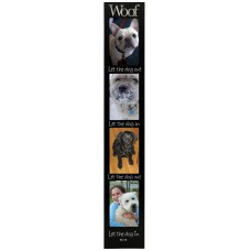 Malden Woof 4-Opening Memory Stick Picture Frame MLDN1252