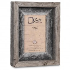 Loon Peak Asbury Barn Wood Reclaimed Wood Signature Picture Frame LOPK6275