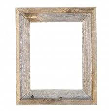 Loon Peak Reclaimed Barn Wood Open Picture Frame RDCR1007