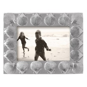 Mariposa Seaside Scallop Bordered Picture Frame MPSA1447