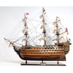 Old Modern Handicrafts HMS Victory Mid Size Ee Model Ship OMH1126