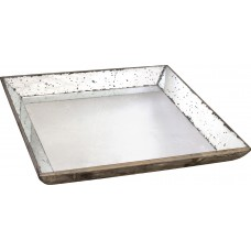 Willa Arlo Interiors Square Glass Serving Tray WLAO2018