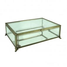 Astoria Grand Mabe Glass Decorative Box ASTD2459