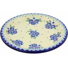 Polmedia Aster Patches Polish Pottery Decorative Plate PMDA3517