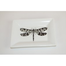 The French Bee Dragonfly Decorative Plate BREN1266