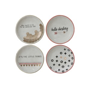 Wrought Studio Ankrum 4 Piece Decorative Plate Set VRKG6506