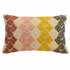 Blissliving Home Dina Embellished Lumbar Pillow BLL2852