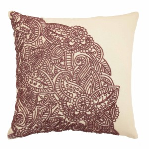 Blissliving Home Kenza Beaded Throw Pillow BLL2849