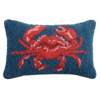 Breakwater Bay Downey Crab Wool Lumbar Pillow BKWT4075