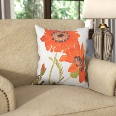 Darby Home Co Le Tournesol Pillow Throw Pillow DBHC5699