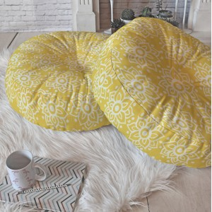East Urban Home Lotus Floor Pillow ETHE2804