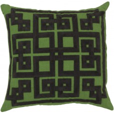 Mercer41 Nigel Embroidered Throw Pillow MRCR2602