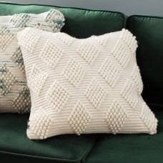Mistana Lowe Diamond Loop Throw Pillow MTNA3484