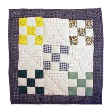 Patch Magic Country Vine Cotton Throw Pillow PMQ1380