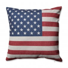 Pillow Perfect Stars and Stripes Patriot Throw Pillow PWP6187