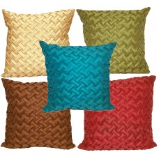Universal Home Fashions Basketweave Throw Pillow UIVE1000