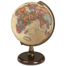 Darby Home Co 9'' Raised-Relief World Globe DBYH8204
