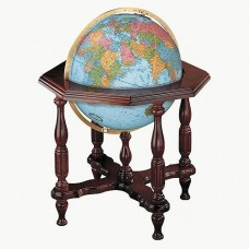 Replogle Statesman Blue Illuminated World Globe RB1100
