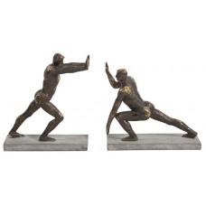 17 Stories Strong Man Bookends STSS3249