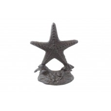 Handcrafted Nautical Decor Starfish Bookends HACM3037