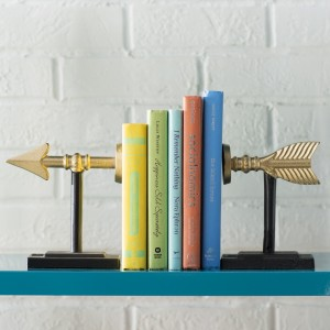 Mercury Row Modern Arrow Bookend MCRR2586