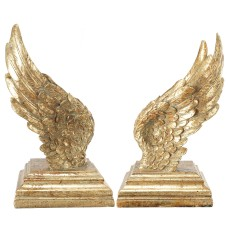 One Allium Way Soar Wing Bookends ONAW6080