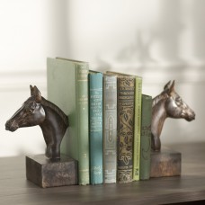 Three Posts Elegant Horse Head Bookends THRE2474
