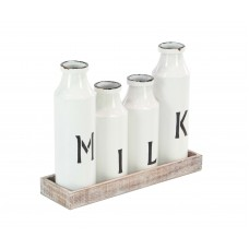 Laurel Foundry Modern Farmhouse Druminagh Milk Decorative Bottle LFMF3348