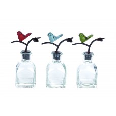 Woodland Imports Mesmerizing 3 Piece Decorative Bottle Set WLI11814