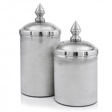 Bloomsbury Market 2 Piece Storage Jar Set BLMS4369