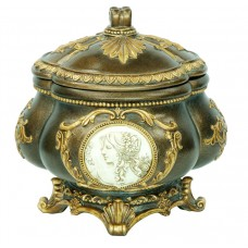OK Lighting Cameo Jewelry Urn OKLG1686