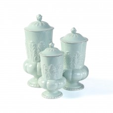 Selectives Marcia 3 Piece Storage Jar Set IMCL1923
