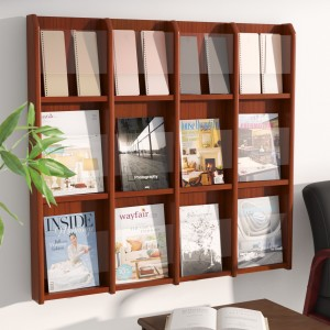 Rebrilliant 12 Magazine / 24 Brochure Wall Display REBR2861