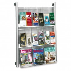 Safco Products Luxe Magazine Rack SF5530