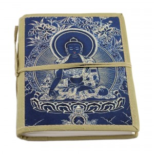 World Menagerie Buddha Cotton Bound Journal India Scrapbook WRME1354