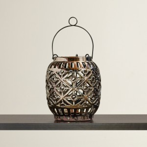 Bungalow Rose Ceramic Lantern BGLS7158