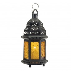 World Menagerie Citrine Lantern WRMG2642