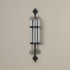 Alcott Hill Glass/Metal Wall Sconce Candle Holder ALCT3157