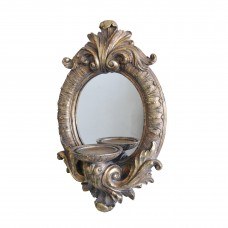 One Allium Way Baroque Resin Sconce ONAW3740