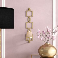 Willa Arlo Interiors Metal Sconce WLAO1769