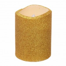 Mercer41 LED Unscented Pillar Candle NTJI2051
