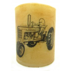 StarHollowCandleCo Tractor Graphic Unscented Flameless Candle SHCC2199