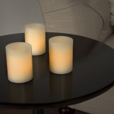 Three Posts Vanilla Flameless Candle THPS8410