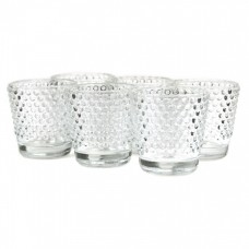 Koyal Wholesale Hobnail Glass Candle Holder KOYA1595