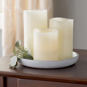 Andover Mills 3 Piece Scented Flameless Candle Set ADML8478